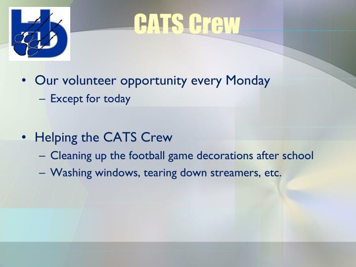 CATS Crew