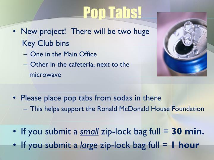 Pop Tabs!