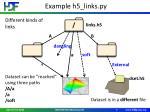 example h5 links py