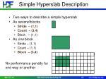 simple hyperslab description