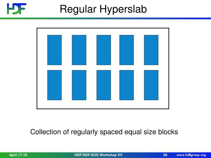 Regular Hyperslab