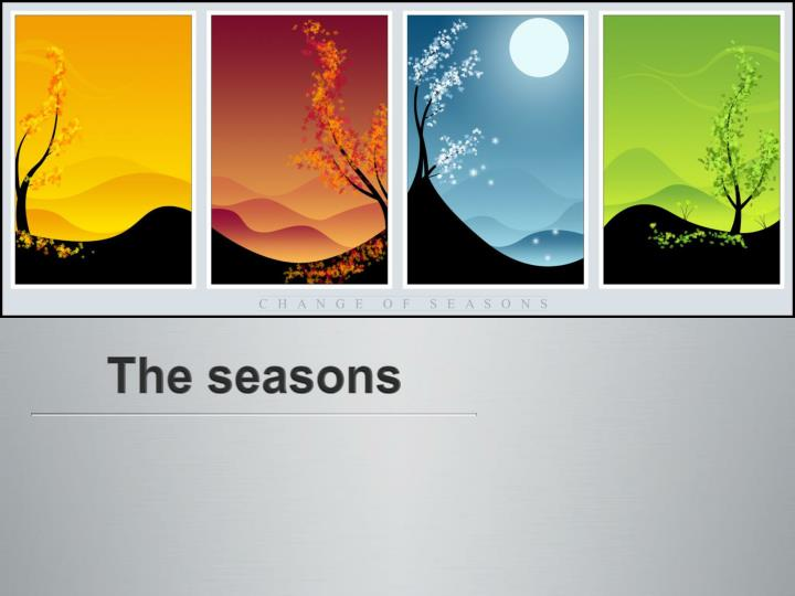 the reason for seasons This book describes simply how seasons are caused by the positions of earth and sun, and it also discusses the delights of each season.