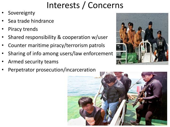 Interests / Concerns