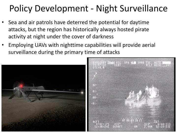 Policy Development - Night Surveillance