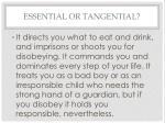 essential or tangential4