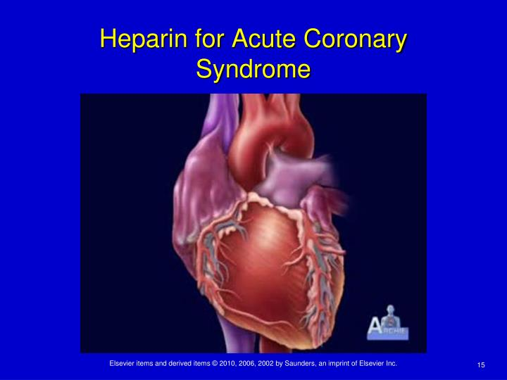 Heparin for Acute Coronary Syndrome