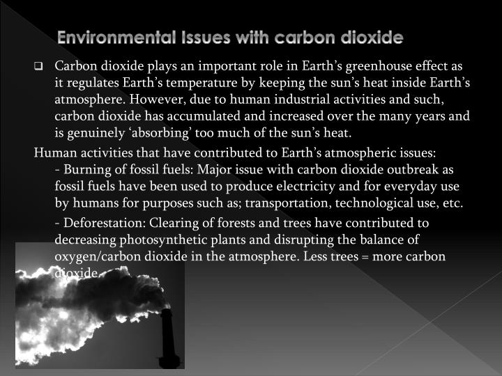 Environmental Issues with carbon dioxide