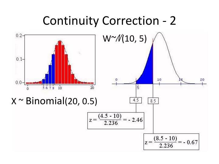 Continuity Correction - 2