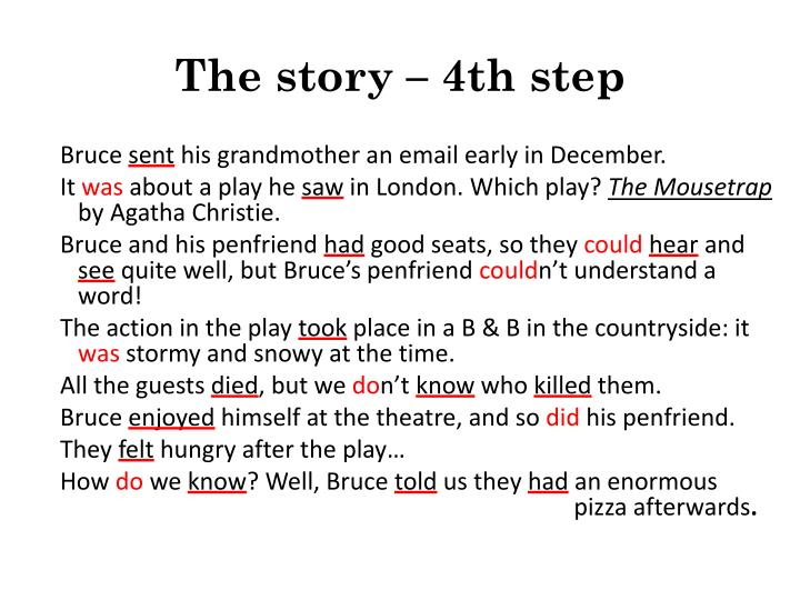 The story – 4th