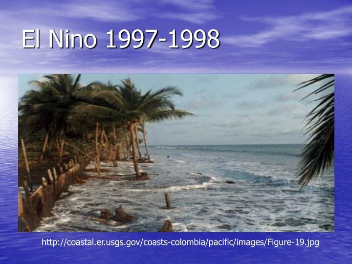 El Nino 1997-1998