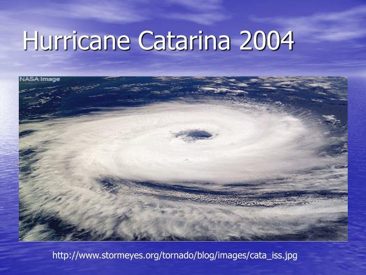 Hurricane Catarina 2004