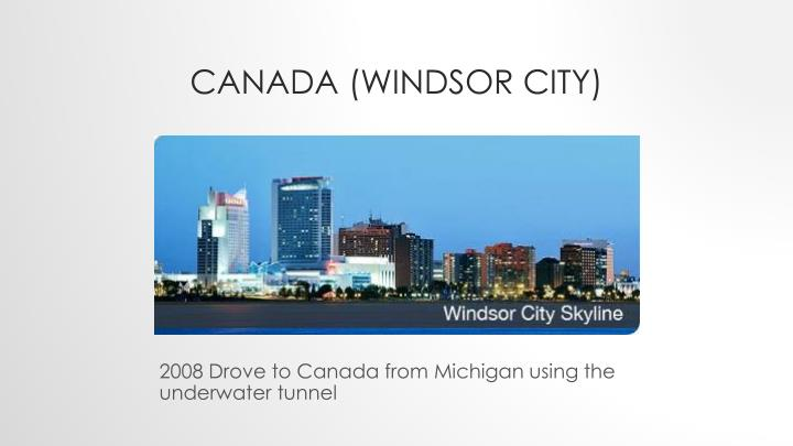 Canada (Windsor City)