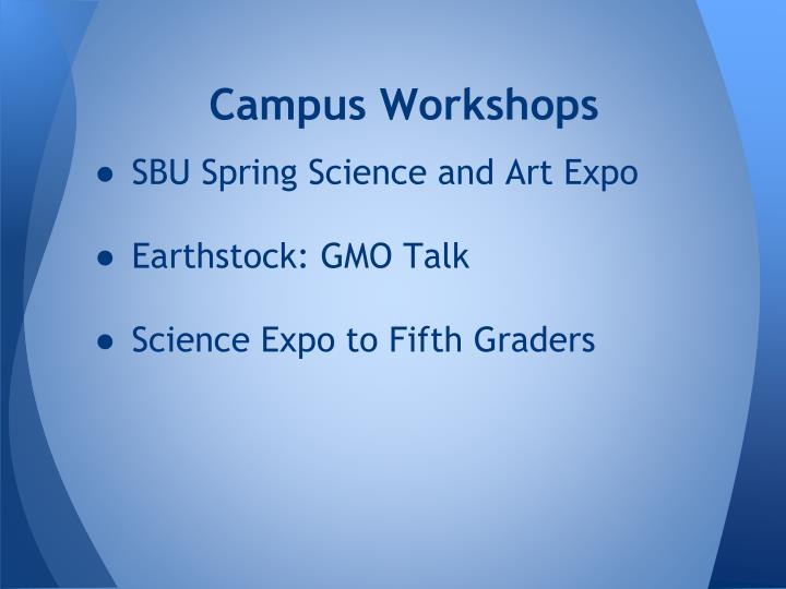 Campus Workshops