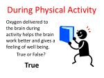 during physical activity10