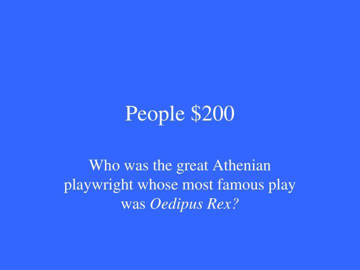People $200
