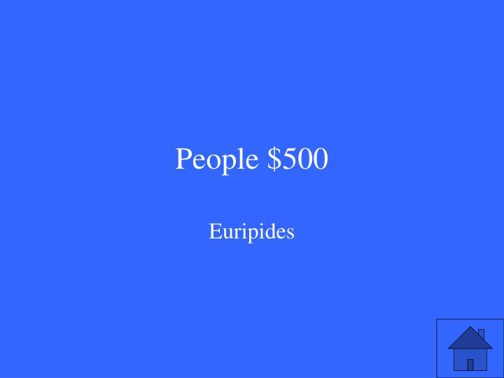 People $500