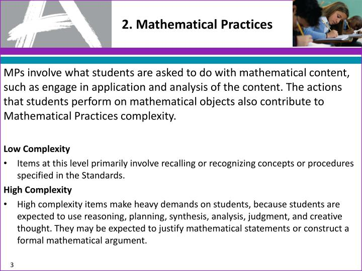 2 mathematical practices