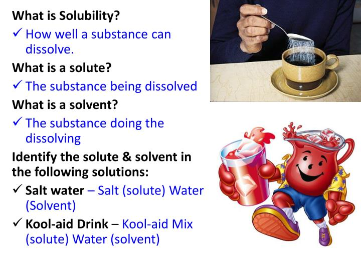 What is Solubility?