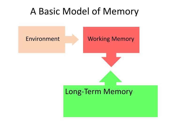 A Basic Model of Memory