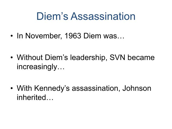 Diem's Assassination