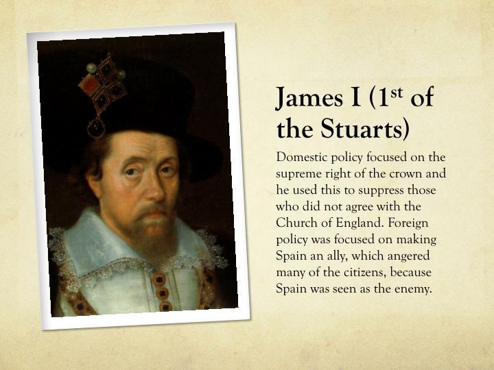 James I (1