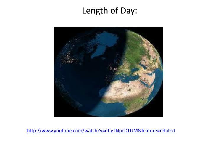Length of Day: