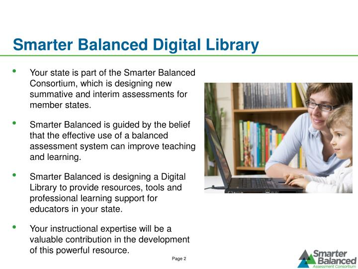 Smarter balanced digital library1