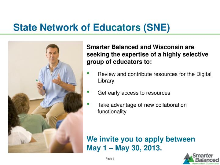 State network of ed ucators sne
