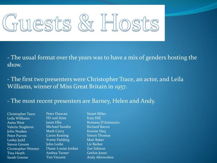 Guests & Hosts