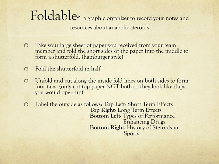 Foldable-