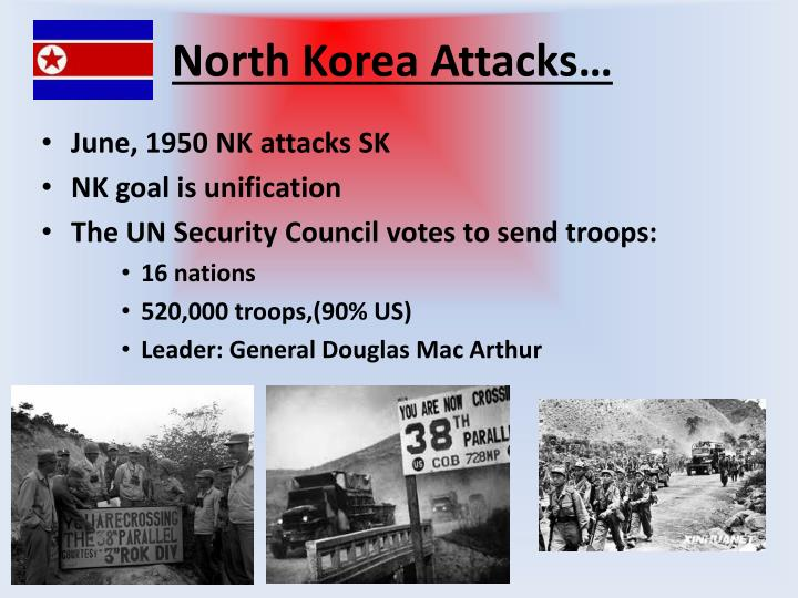 North Korea Attacks…
