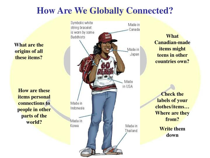 How Are We Globally Connected?