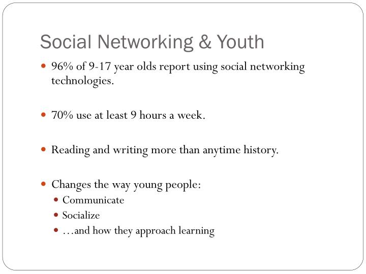 Social Networking & Youth