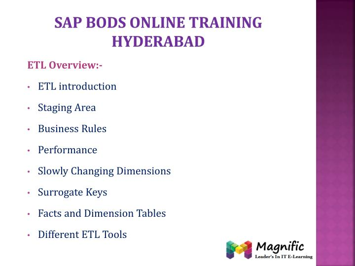 Sap bods online training Hyderabad