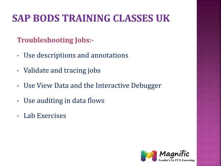 Sap bods training classes uk