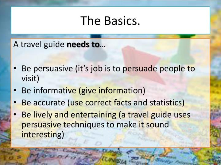The Basics.
