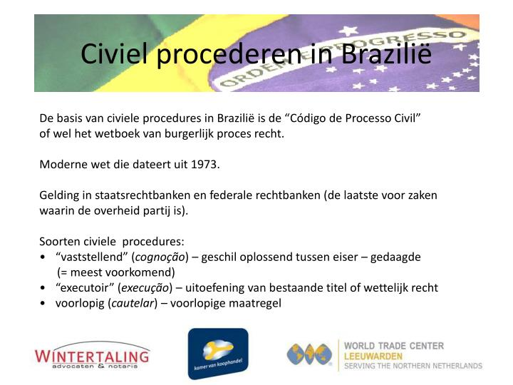 Civiel procederen in