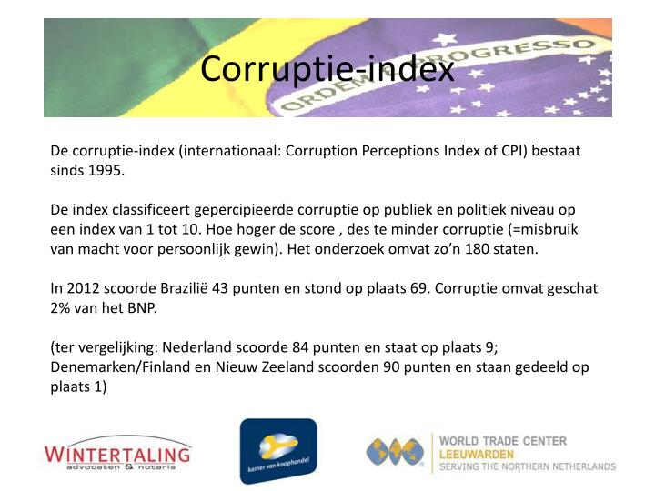 Corruptie-index