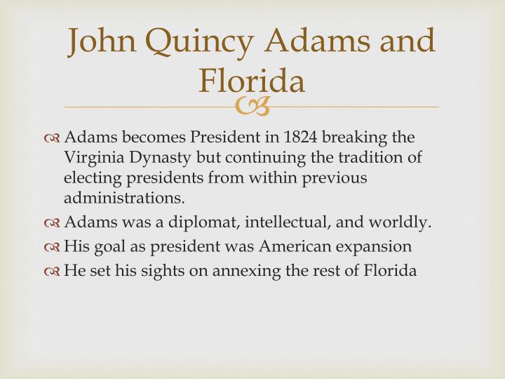 John Quincy Adams and Florida