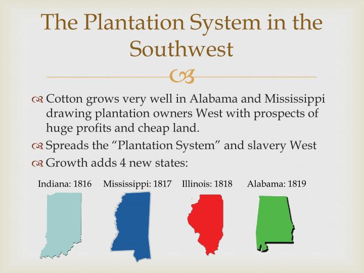 The Plantation System in the Southwest