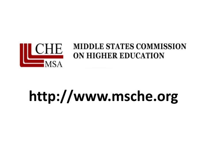 http://www.msche.org