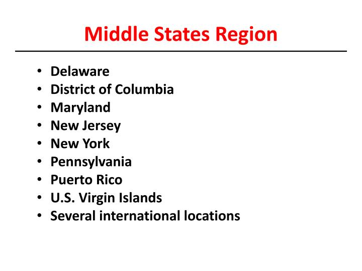 Middle States Region