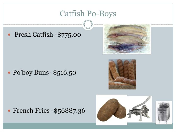 Catfish Po-Boys