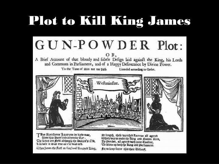 Plot to Kill King James