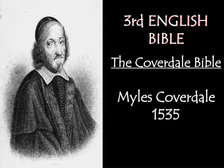 3rd ENGLISH BIBLE