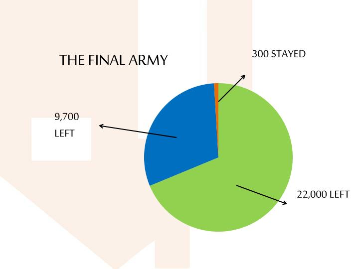 THE FINAL ARMY