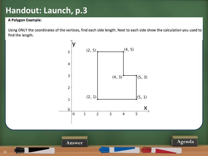 Handout: Launch, p.3