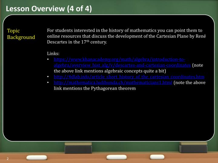 Lesson Overview (4 of 4)