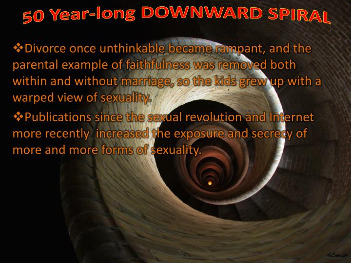50 Year-long DOWNWARD SPIRAL