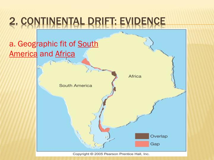2 continental drift evidence